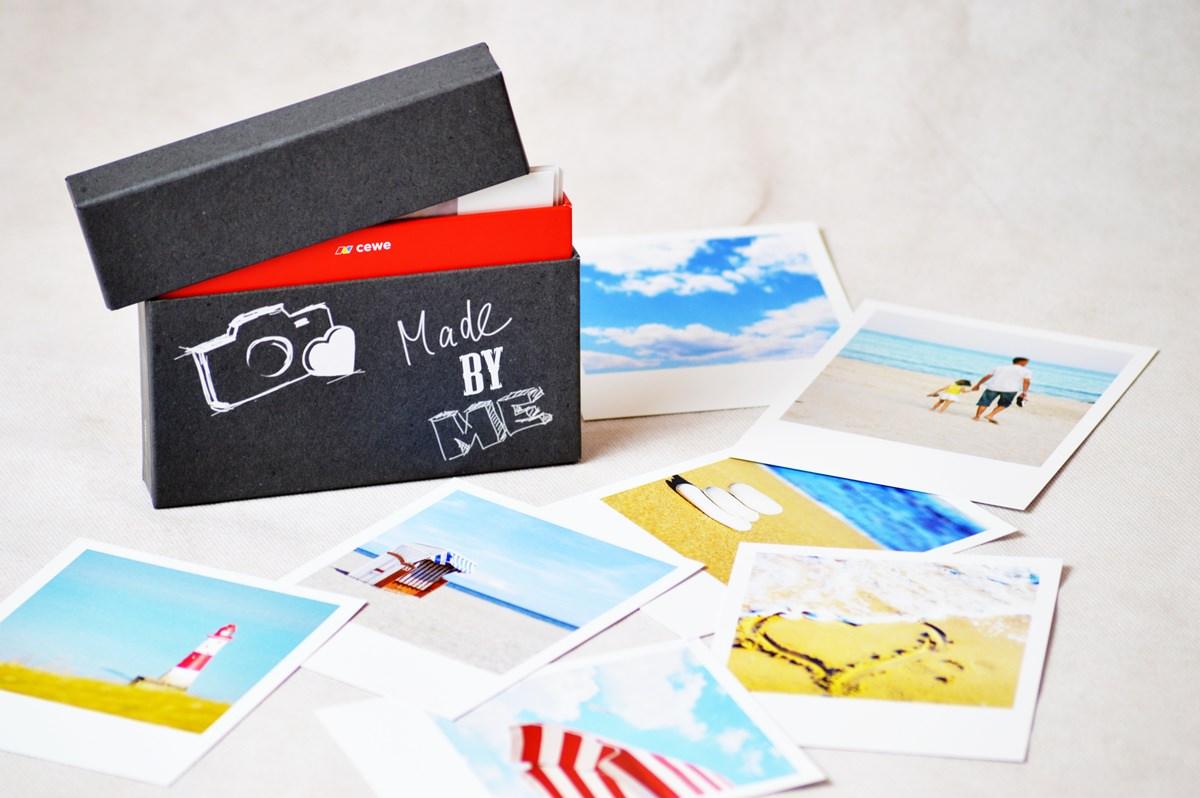 Polaroid-Fotos-Geschenkbox