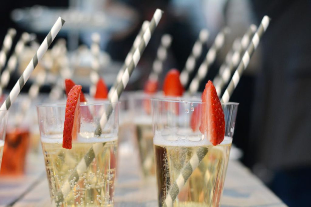 Blogger Club gofeminin Drinks Sekt