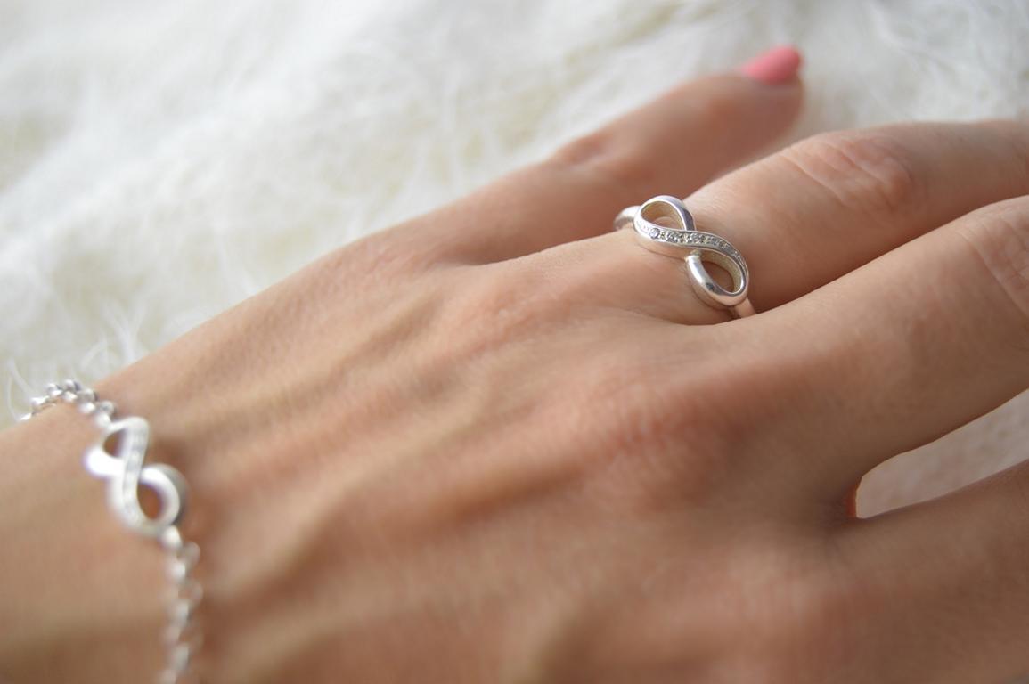 Unendlich zeichen ring
