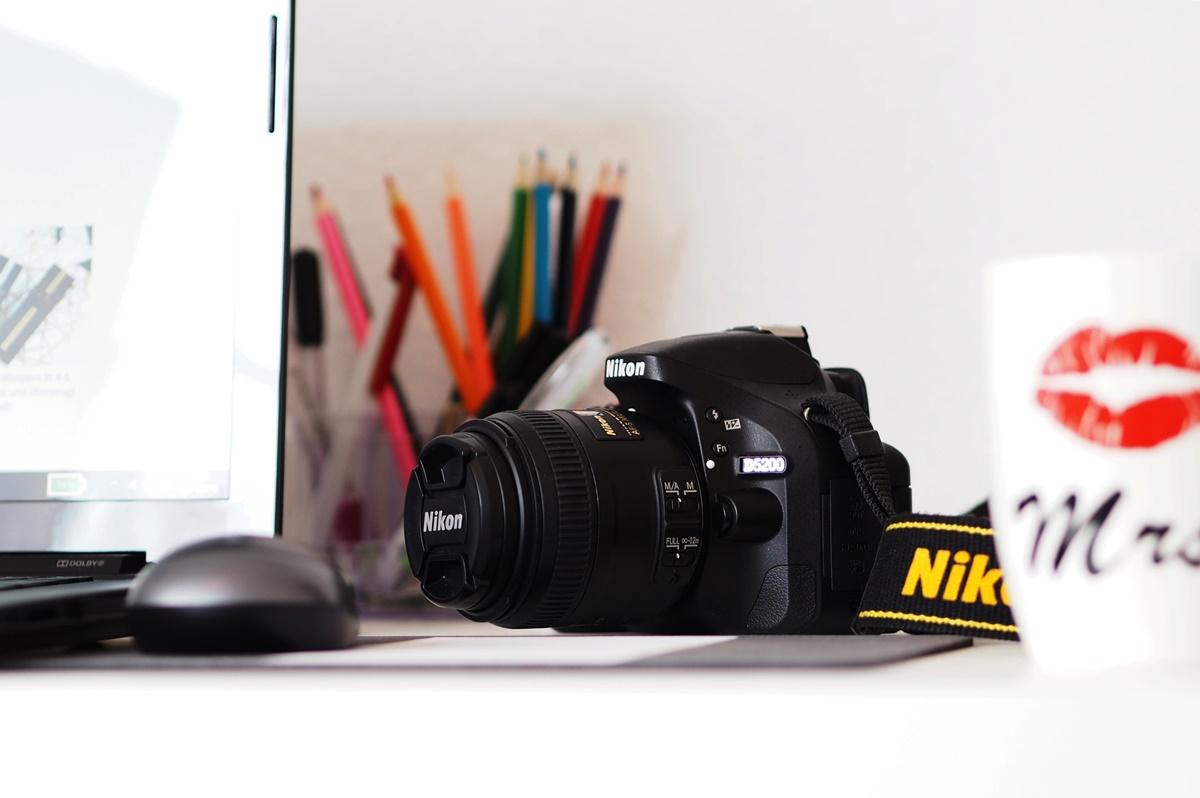 bloggen und fotografieren nikon
