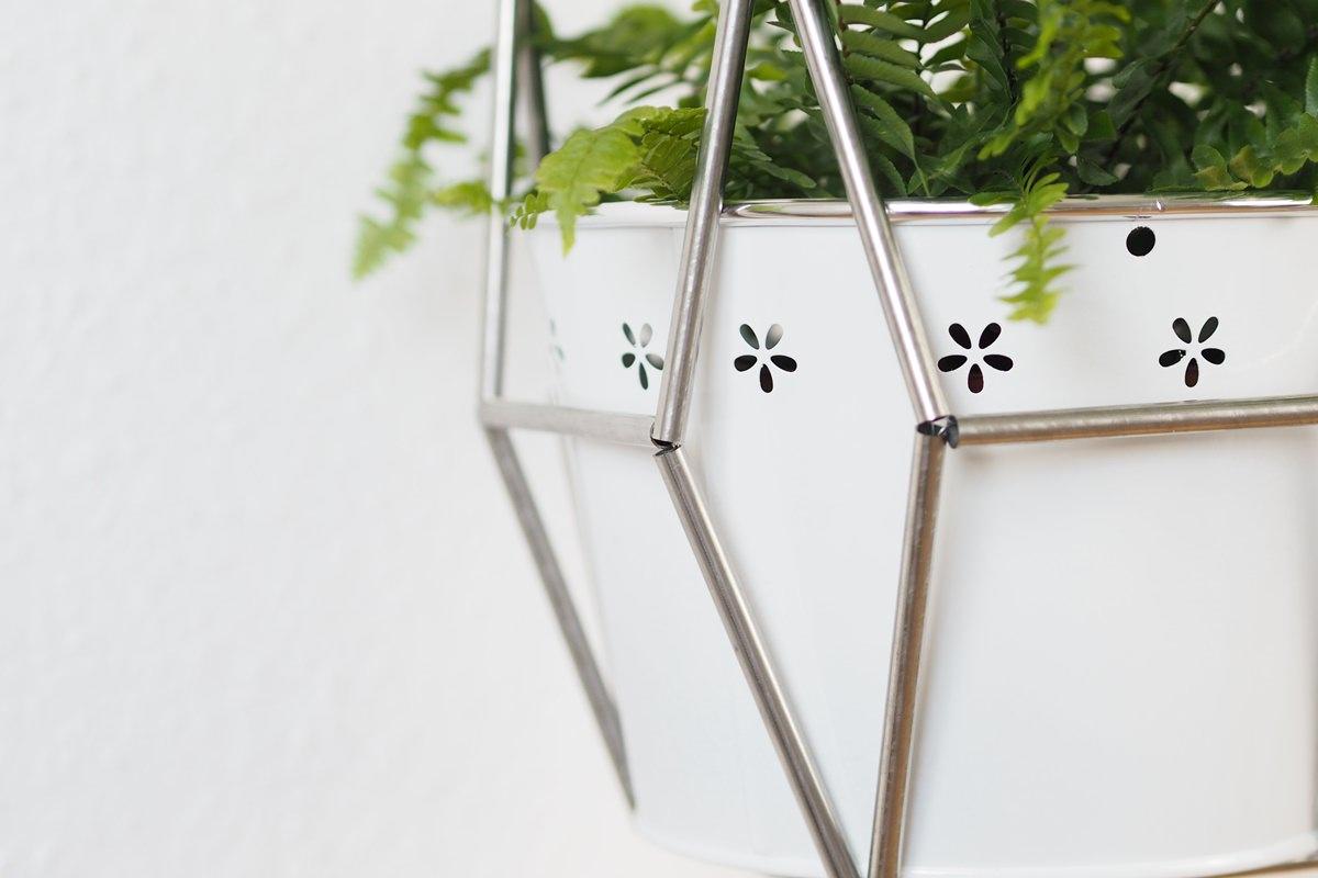 Blumenampel DIY Anleitung