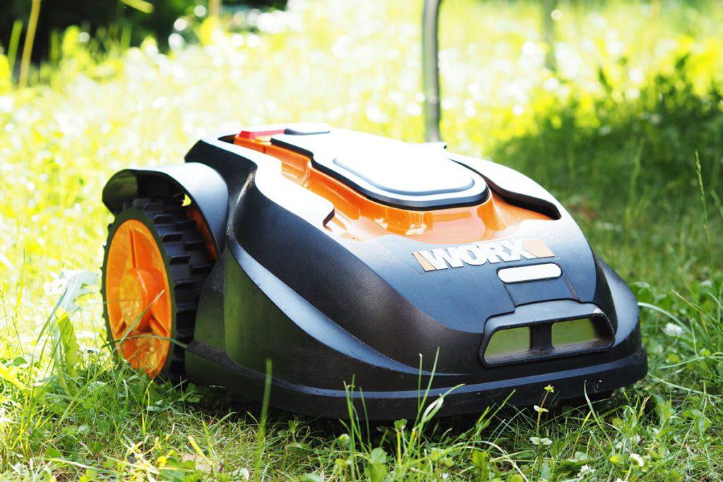 Mähroboter Worx Landroid gepflegter Rasen