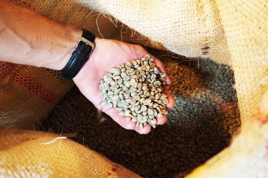 Hannoversche Kaffeemanufaktur Kaffeebohnen Rohkaffee