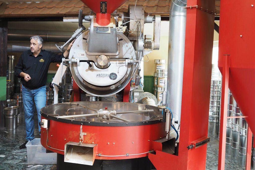 Hannoversche Kaffeemanufaktur Röstanlage