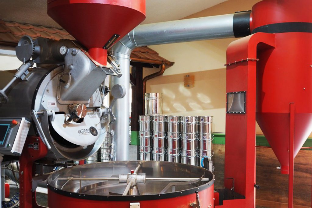 Hannoversche Kaffeemanufaktur Röstanlage Kaffeeröster
