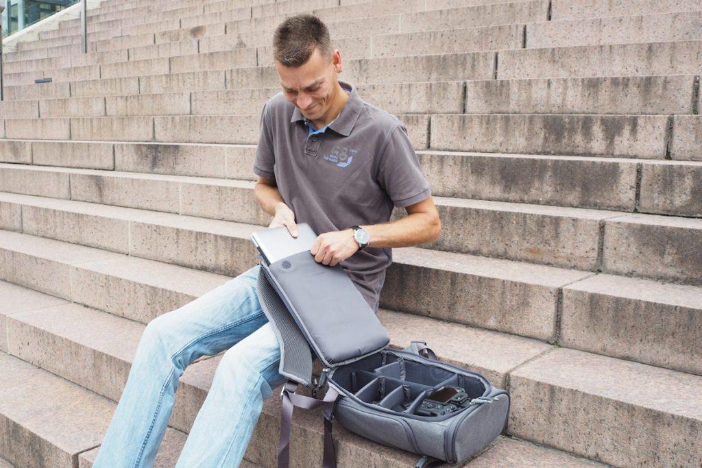 booq fotorucksack slimpack notebook