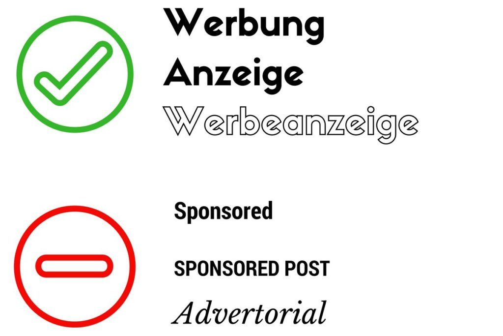 kennzeichnung sponsored post