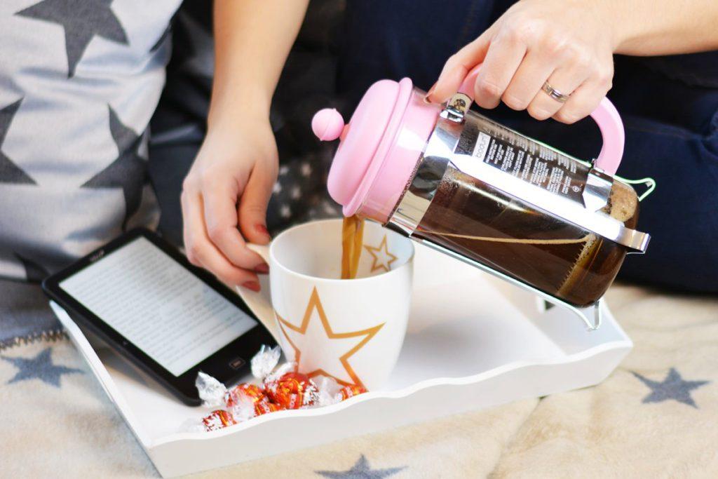 erwin mueller french press kaffee zubereiten