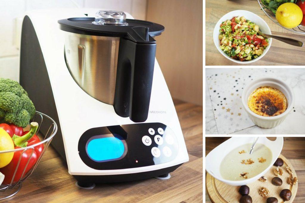 Rezepte für die Küchenmaschine mit Kochfunktion MEDION MD 16361