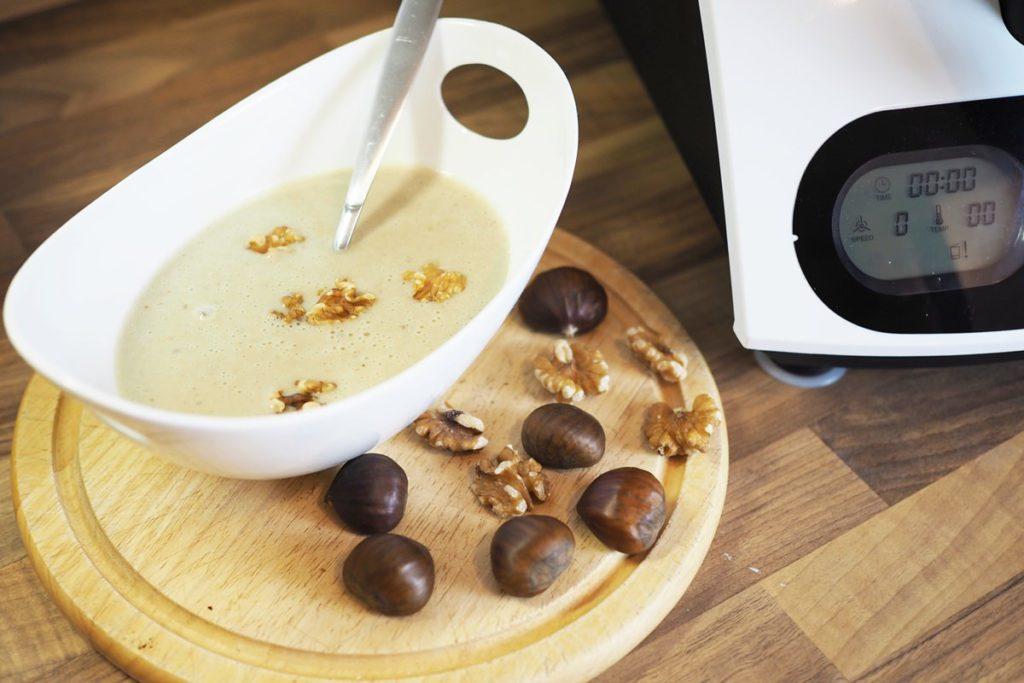kuechenmaschine mit kochfunktion maronensuppe
