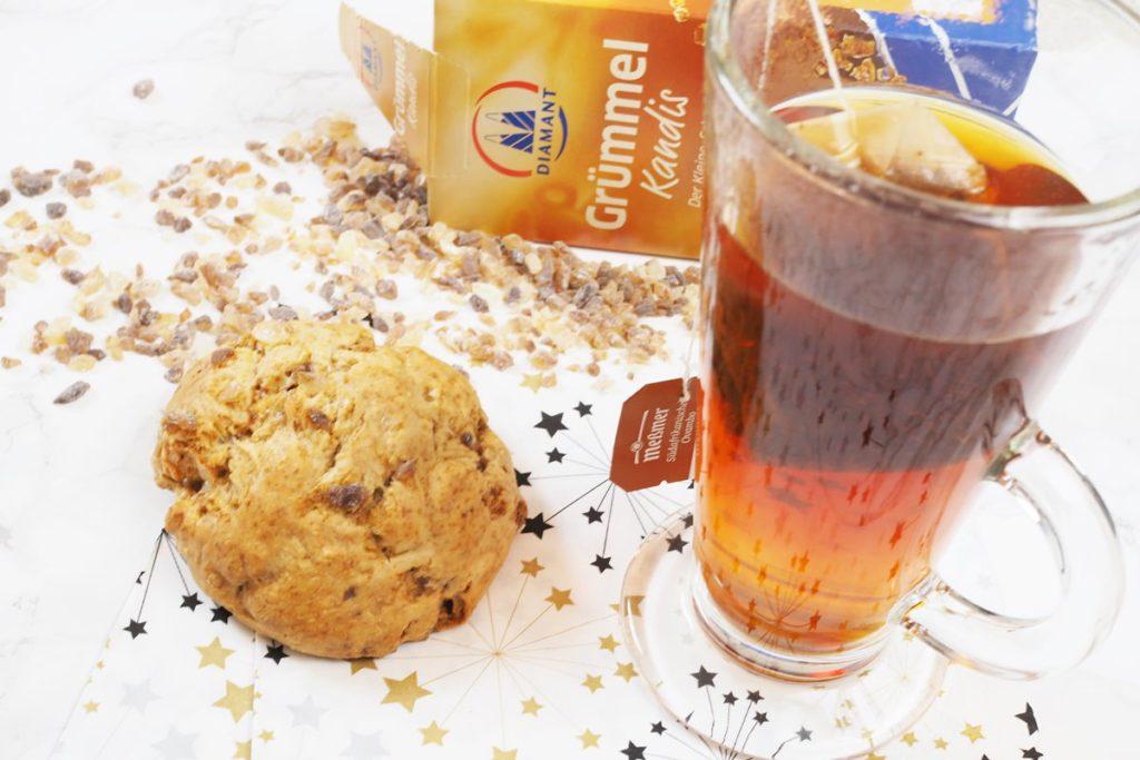 Very British Tea-Time: Scones mit Zimt und Kandis [Rezept]