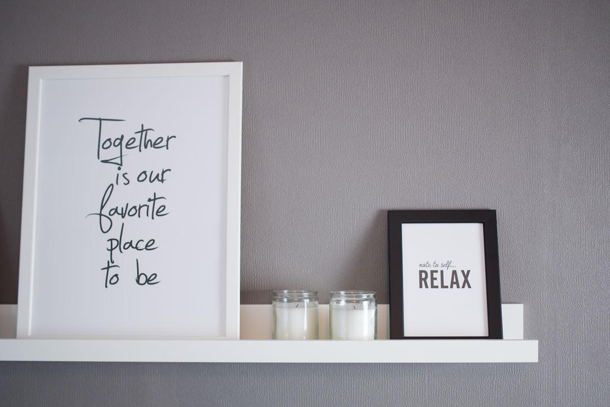 Wohnzimmer // Deko- und Wohnideen für mehr Gemütlichkeit