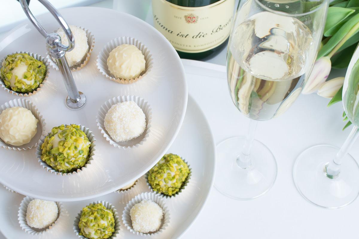 Champagner trueffel selbermachen rezept rotkaeppchen sekt