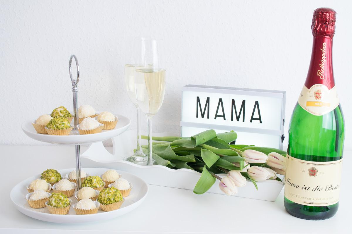 Muttertag champagner trueffel rezept pralinen rotkaeppchen