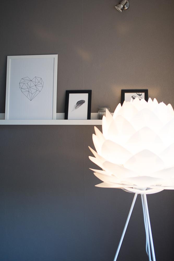 Wohnzimmer Dekoration Bilder Stehlampe