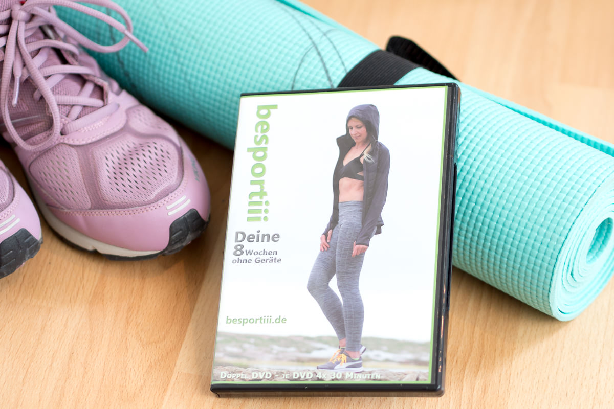 besportii 8 wochen fitnessprogramm trainings dvd