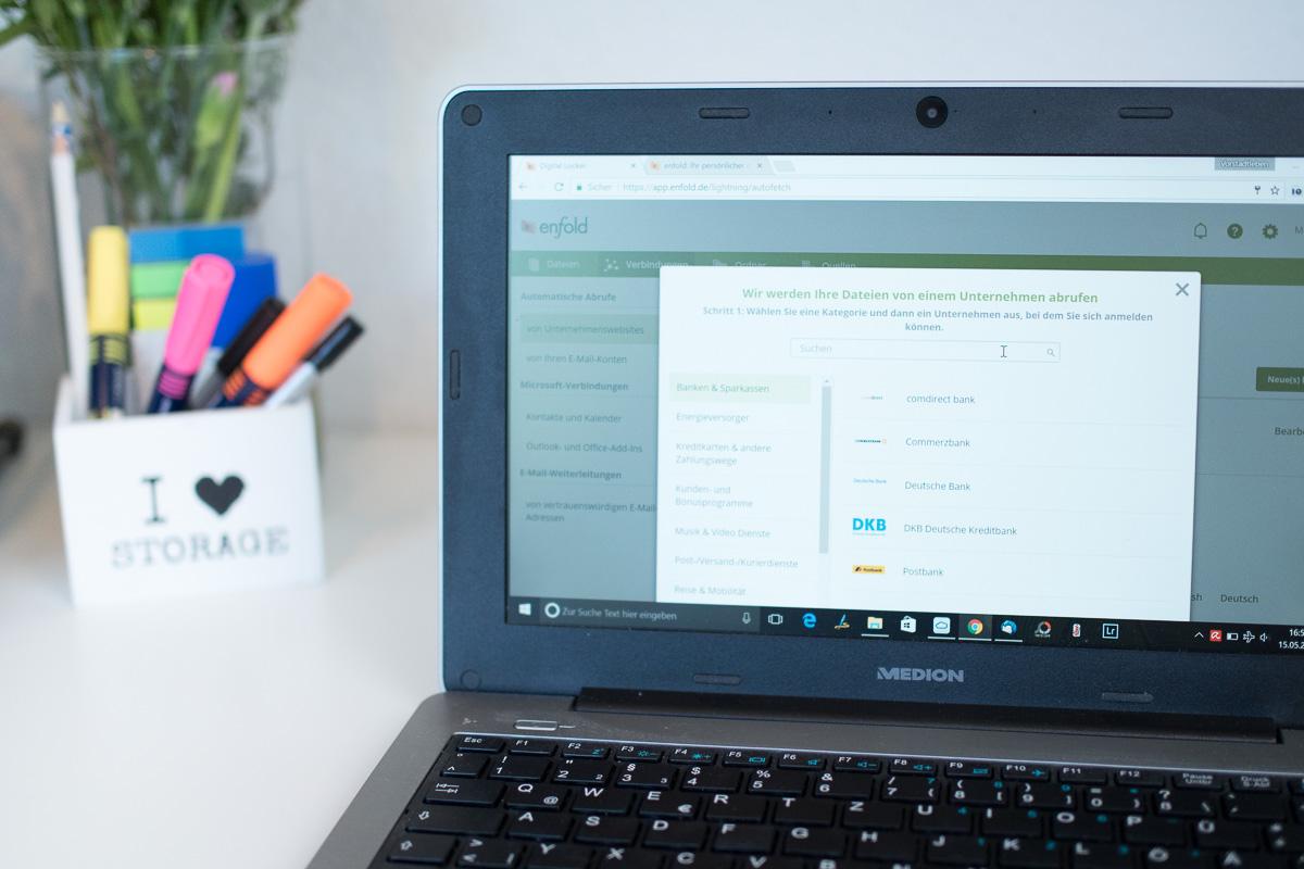 enfold dokumente importieren digitaler dokumentenmanager