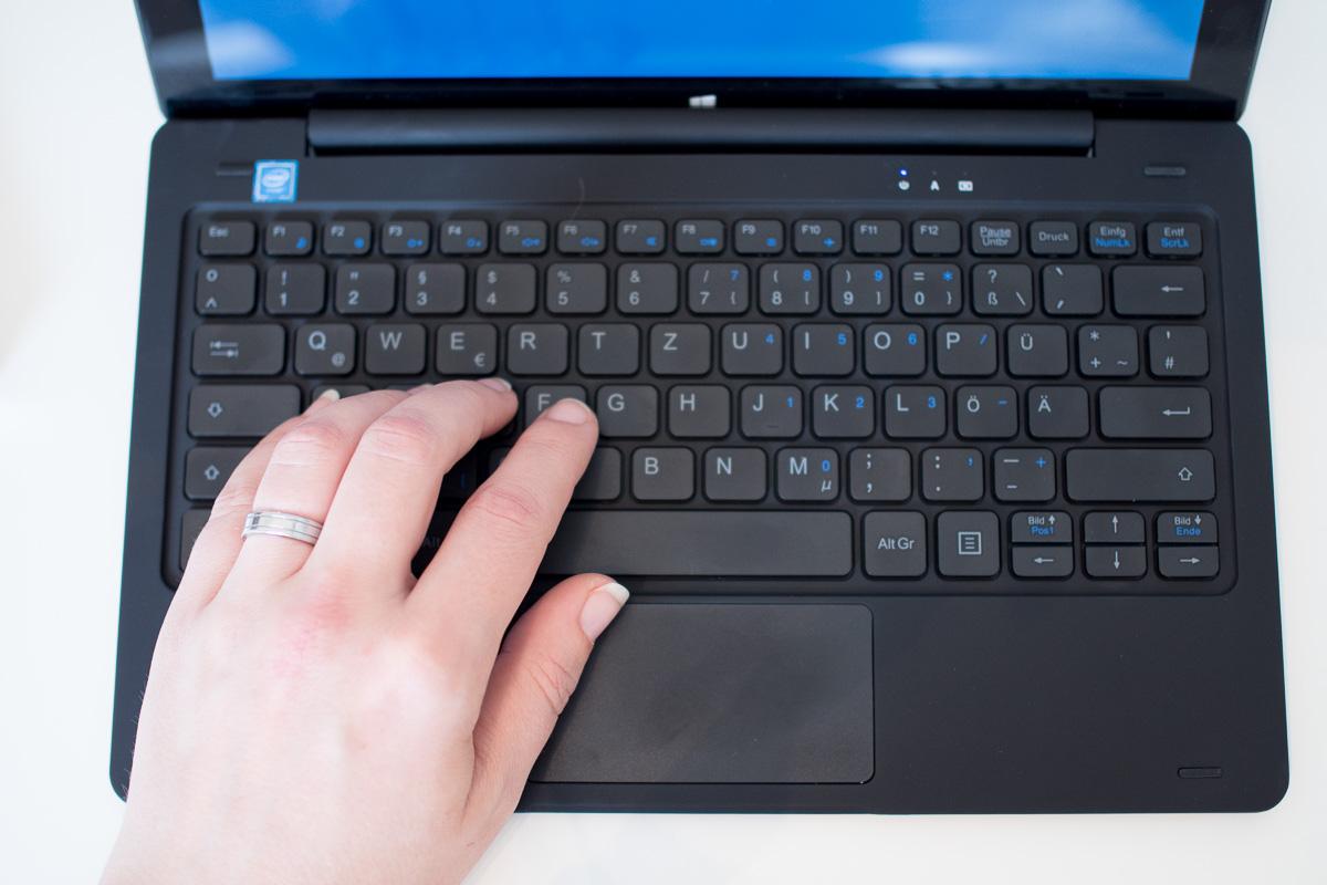 odys fusion tastatur touchpad
