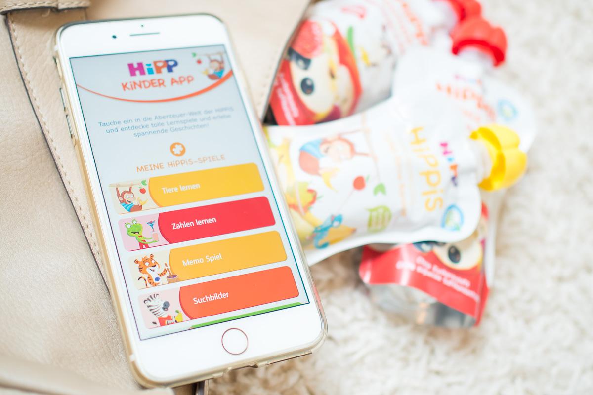 kinderapp hipp hippis unterwegs smartphone