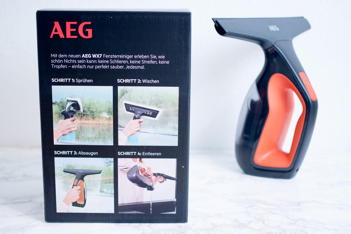 AEG Fenstersauger keine streifen keine schlieren keine tropfen