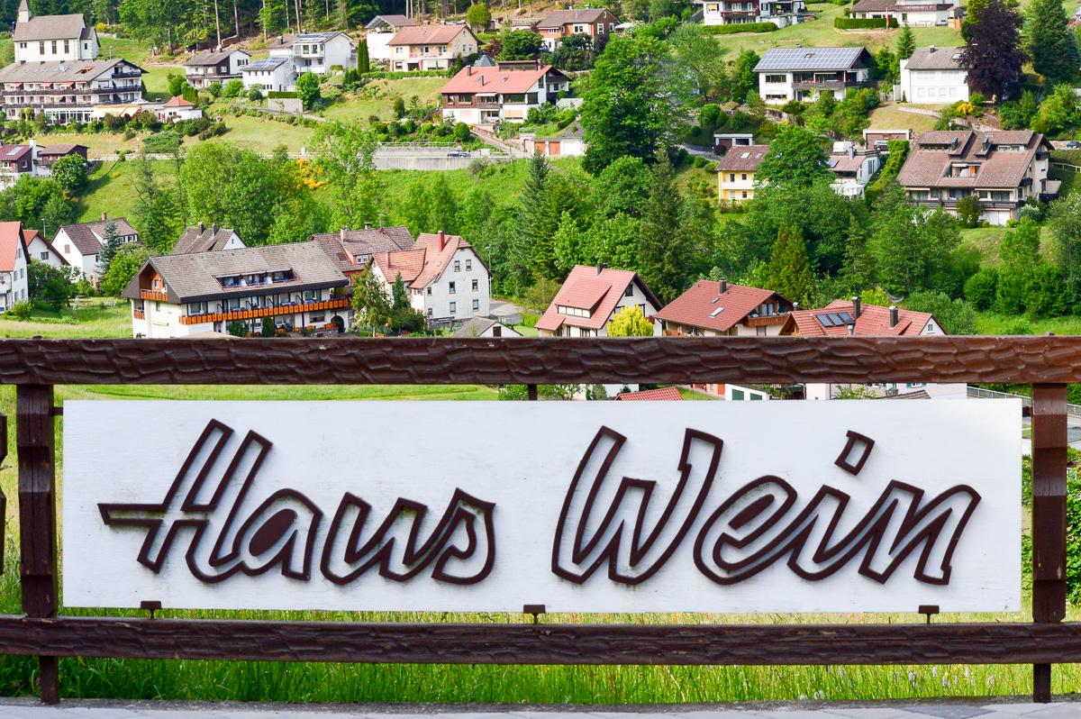 Haus Wein Schwarzwald Ferienwohnung Baiersbronn