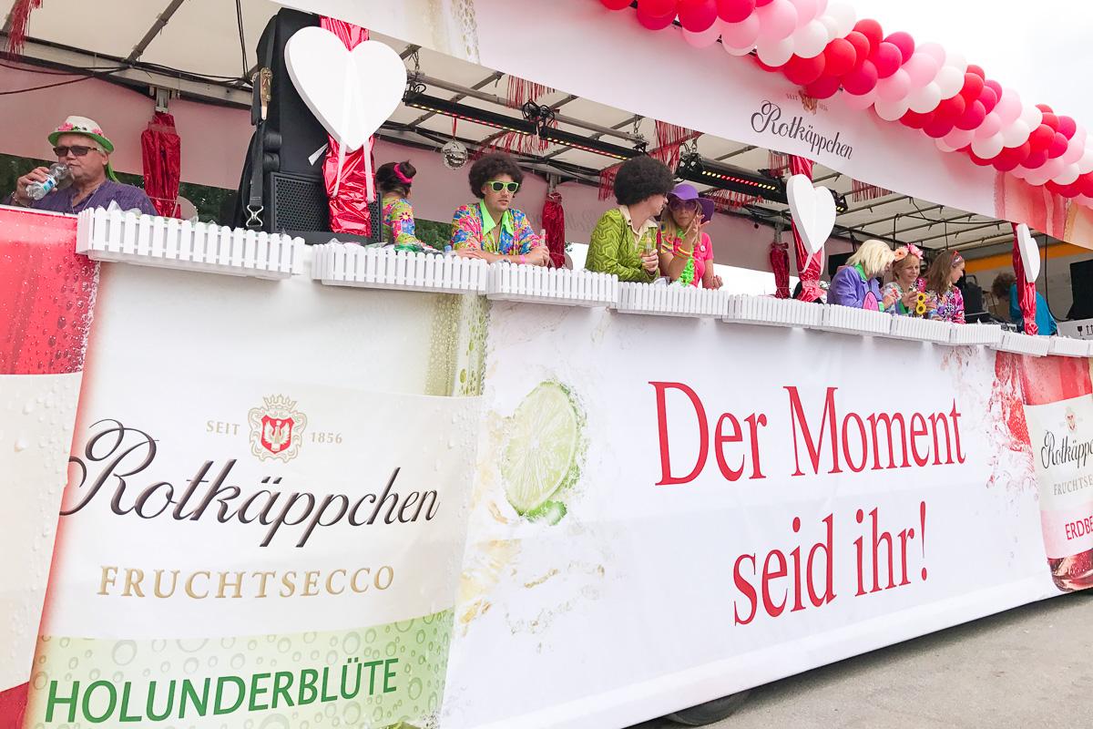 Rotkaeppchen fruchtsecco Deutschlandtour Schlagermove Hamburg Tr