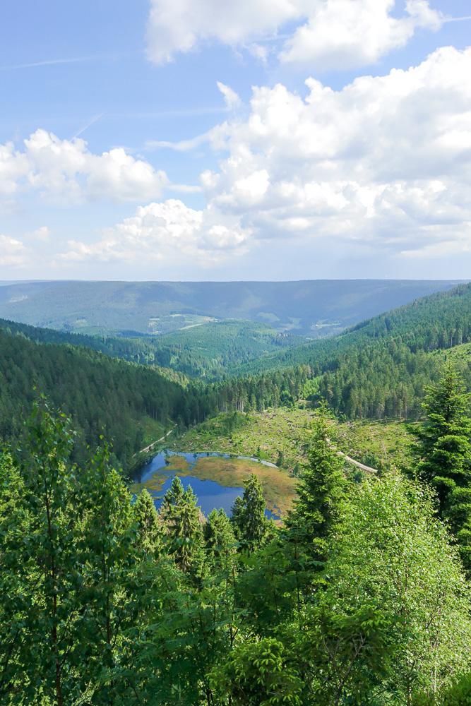 radfahren im schwarzwald huzenbacher see