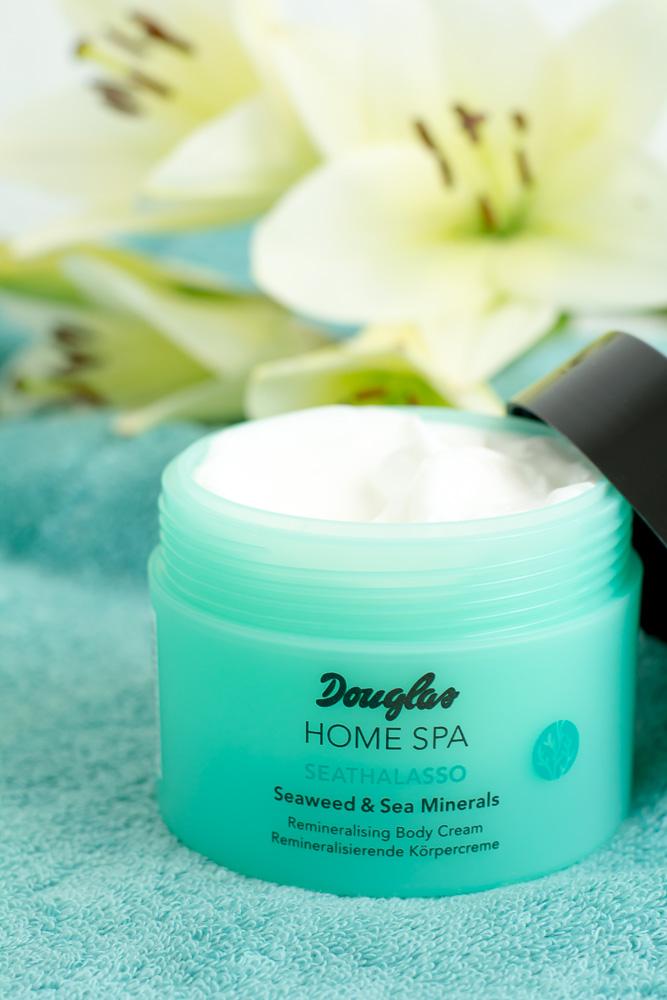 Douglas home spa seathalasso wellness zu hause koerpercreme