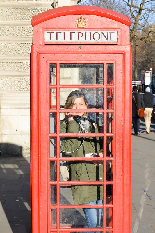 London Telefonzelle Kurztrip Citytrip