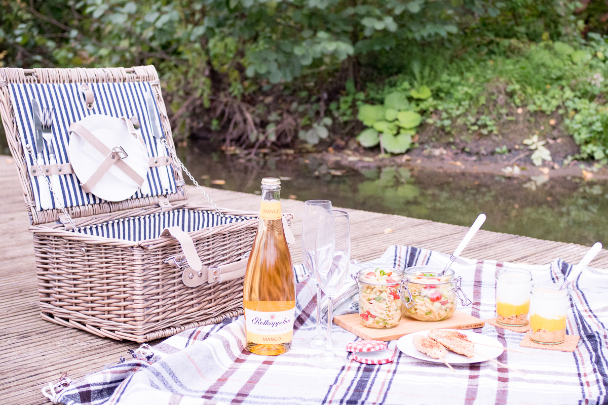 rotkaeppchen fruchtsecco picknick rezepte rausindensommer