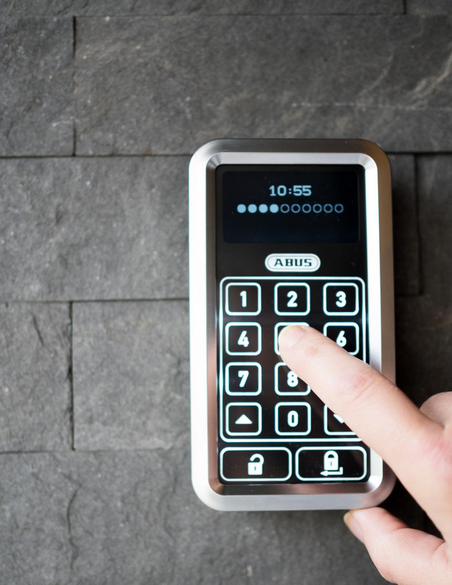 ABUS HomeTec Pro Funktastatur Eingang