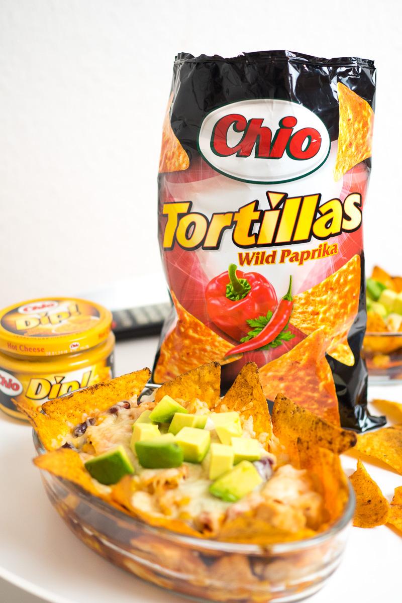 chio tortillas ueberbacken rezept mit haehnchen