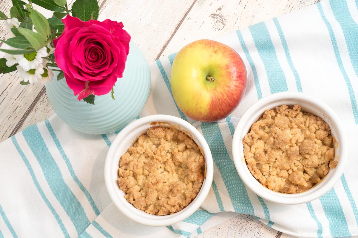 leckerer apple crumble rezept