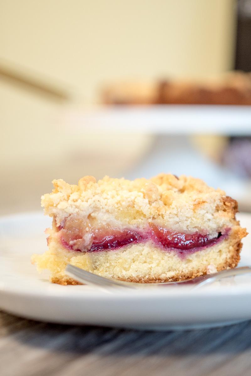 rezept pflaumenkuchen mit streuseln zwetschgenkuchen