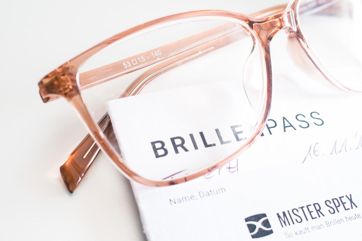 Brille Brillenpass Mister Spex Service