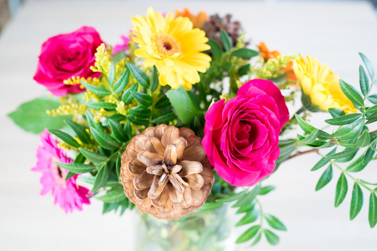 Geburtstag Blumenstrauss Wochenendpost Vorstadtleben Lifestyle Blog