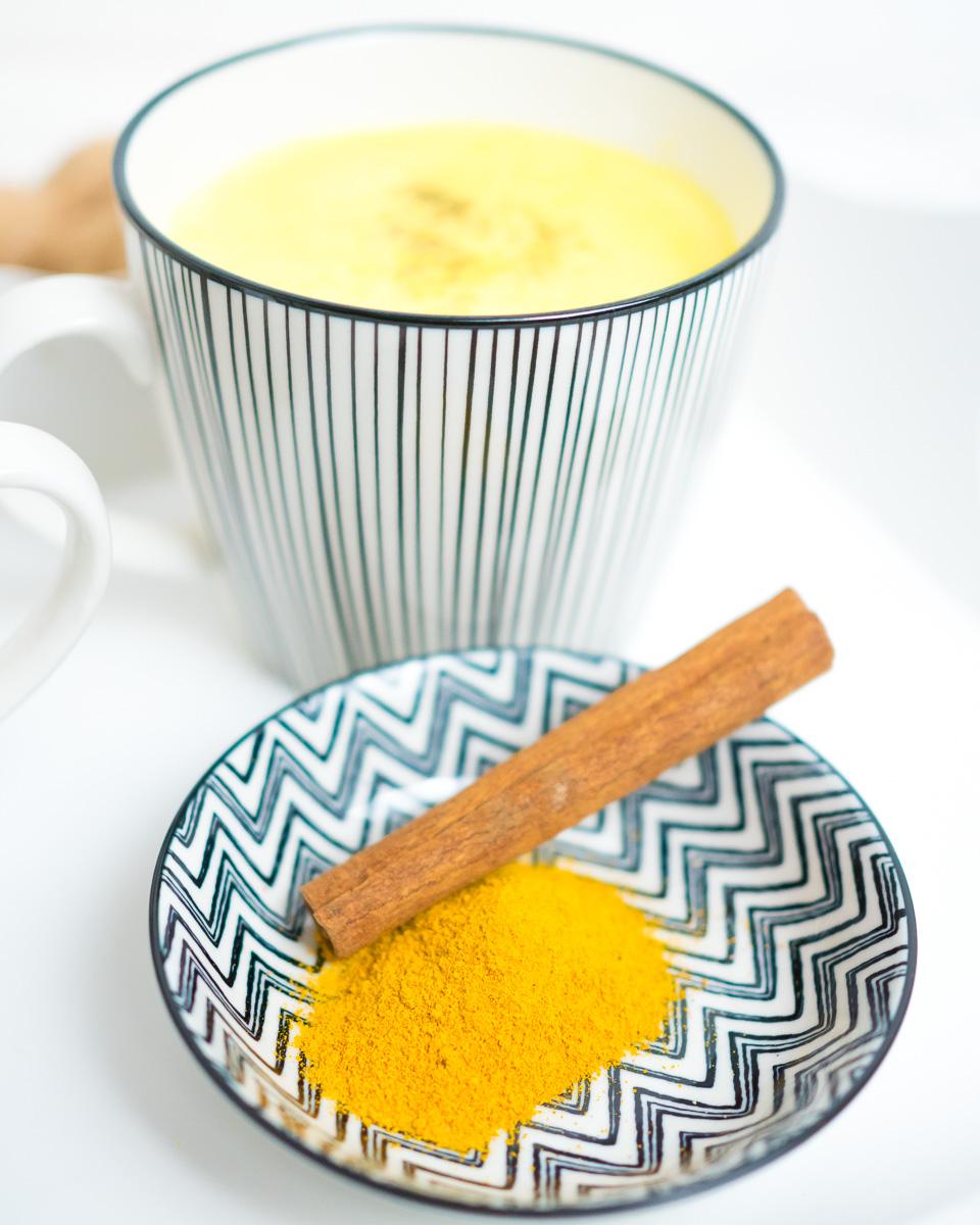 Goldene Milch Rezept Kurkuma Latte