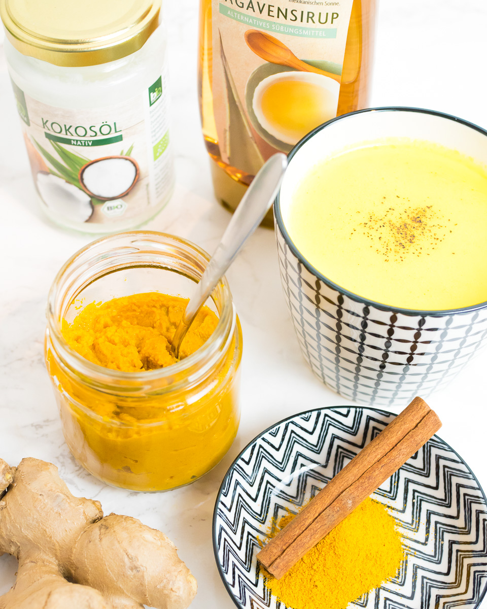 Goldene Milch Rezept Vorstadtleben Lifestyle Blog Kurkuma Latte