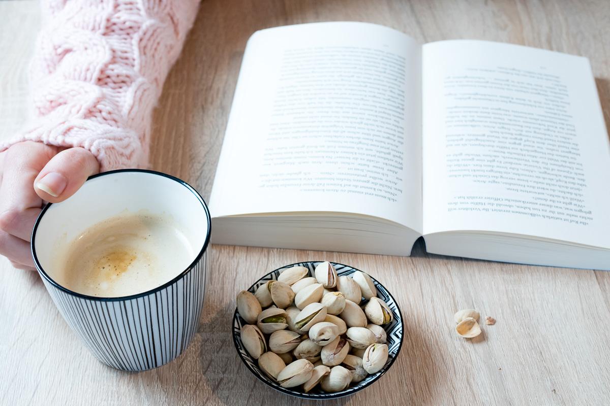 zeit fuer mich lesen kaffee wochenendpost