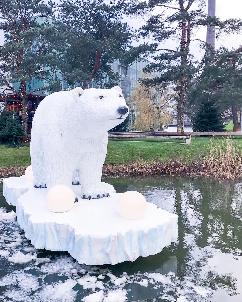 Autostadt Winterwelt Eisbaer
