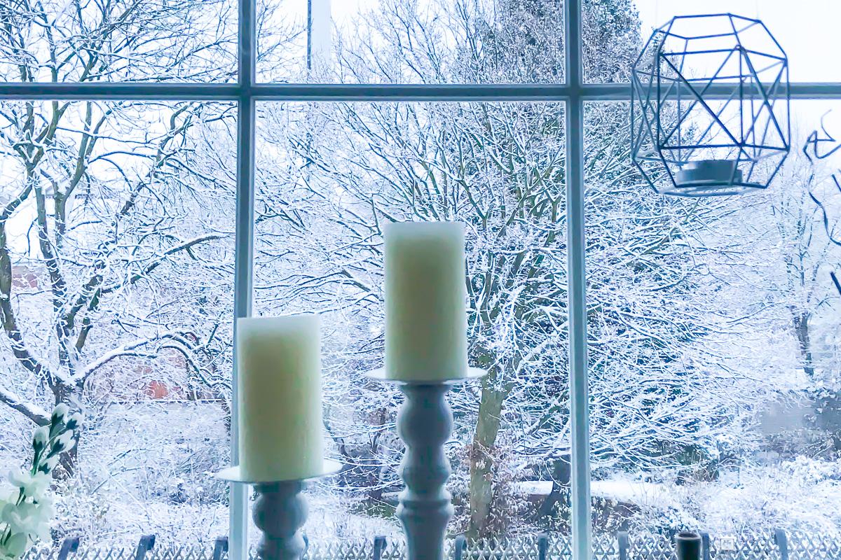 Wochenendpost erster Schnee