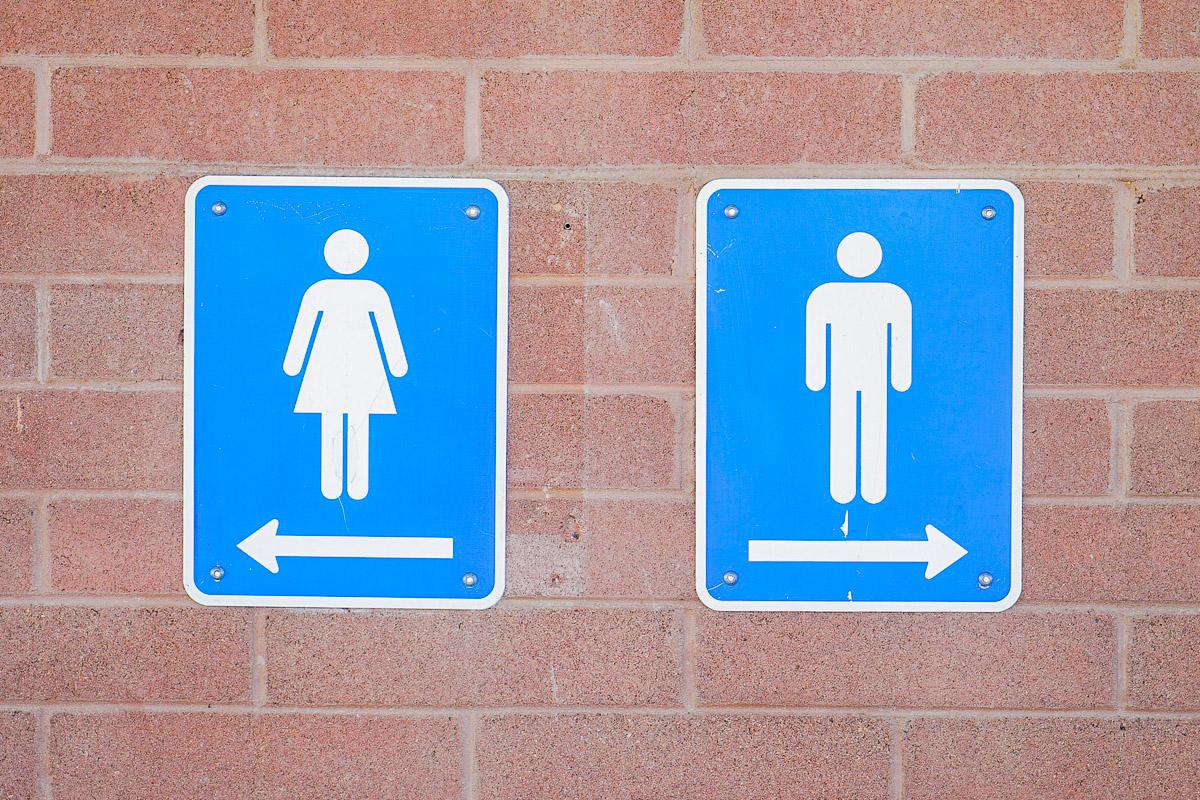 Damen Herren WC