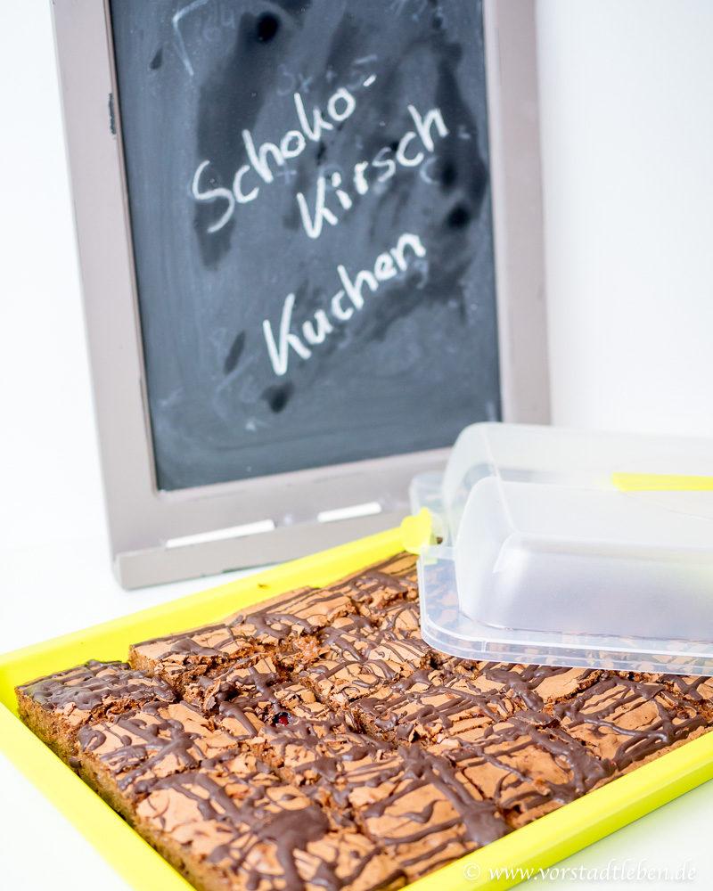 Kuchenbuffet Rezepte Schoko Kirsch Kuchen