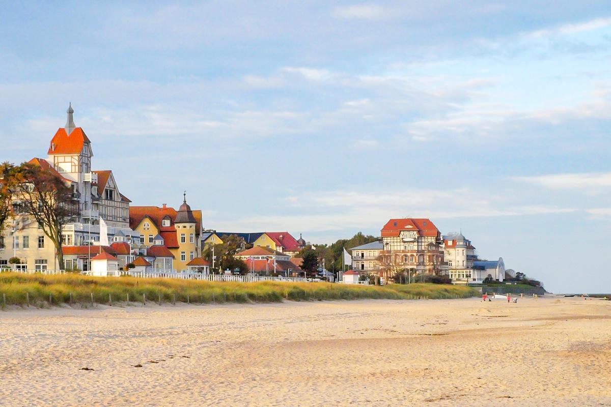 Kuehlungsborn West Urlaub an der Ostsee