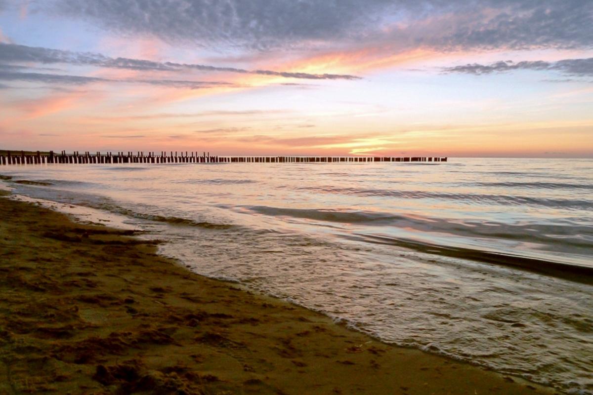 Urlaub an der Ostsee sonnenuntergang kuehlungsborn
