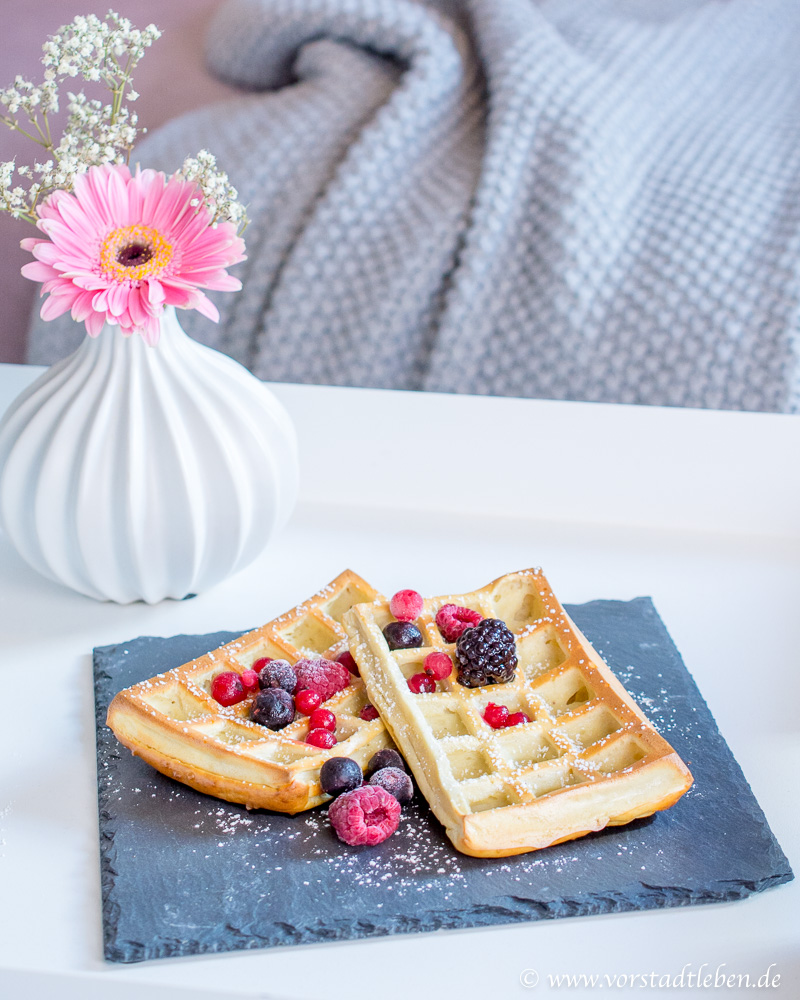 Weight Watchers Rezept Skyr Waffeln Banane
