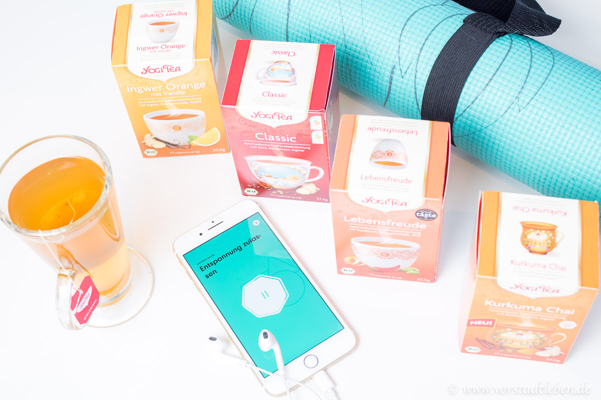 YOGI TEA Teesorten Yogamatte Tee