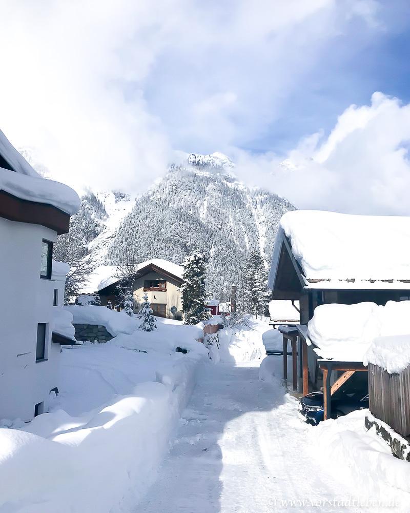 winter in weidach schnee