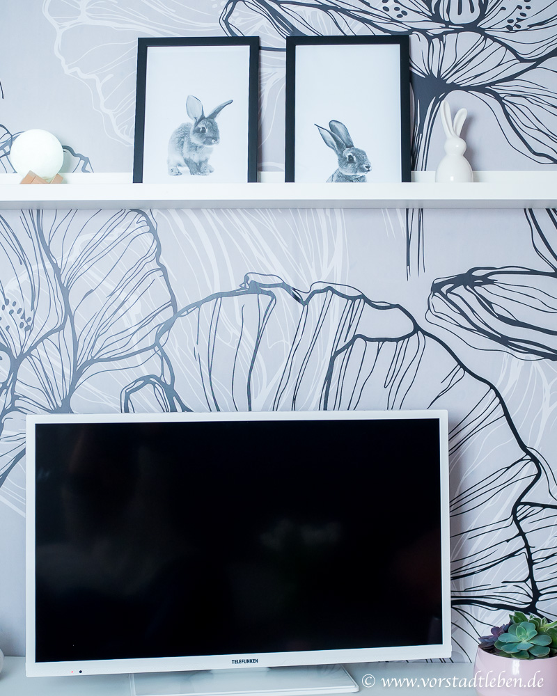 DIY TV Wand Blickfang