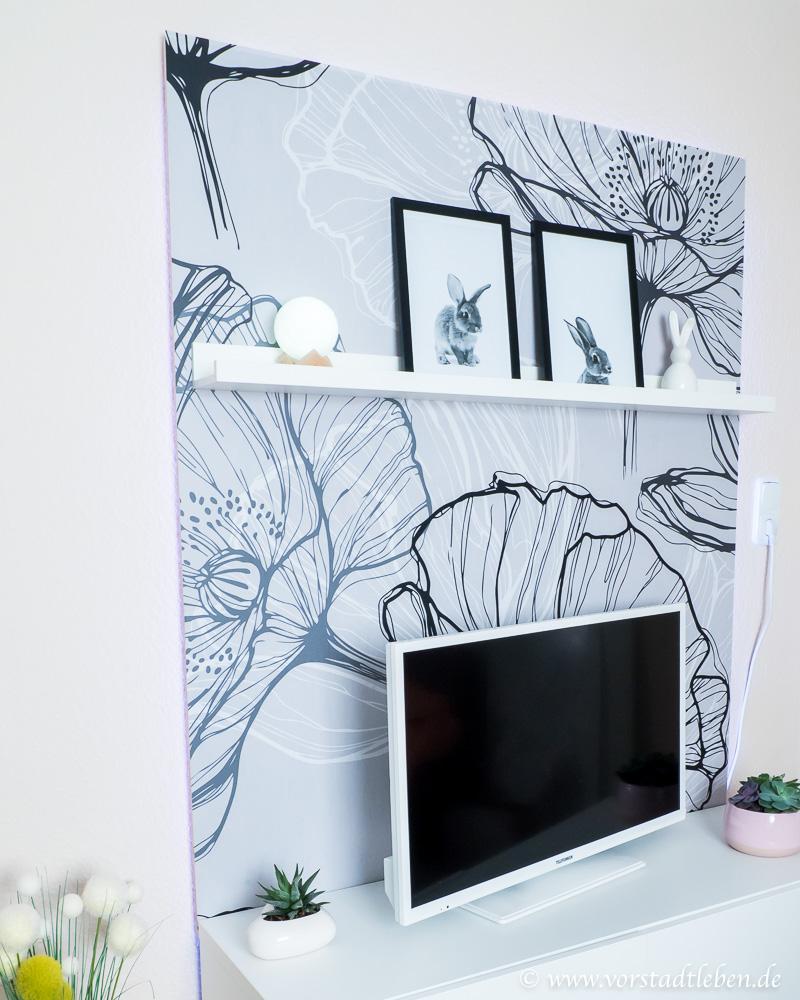 DIY TV Wand selber bauen